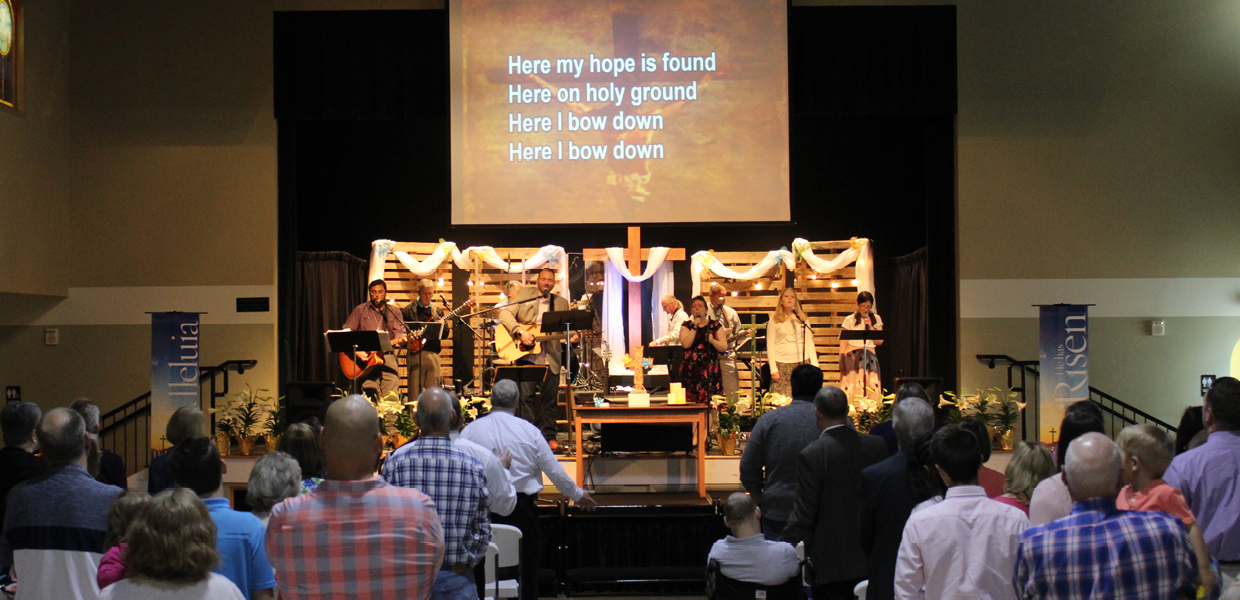 Contemporary Worship at Bethany United Methodist Church in Smyrna
